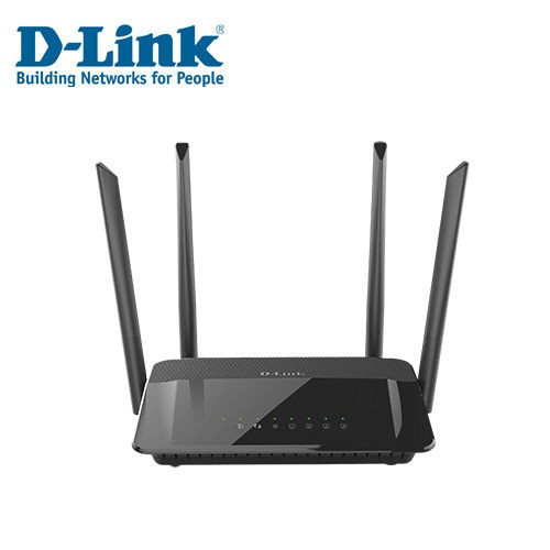 品 半年D LINK Wireless AC1200 雙頻無線路由器DIR 822 6 個