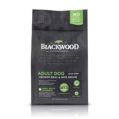 WDJ BLACKWOOD 柏萊富特調低卡保健配方雞肉米5LB 5 磅2 2KG