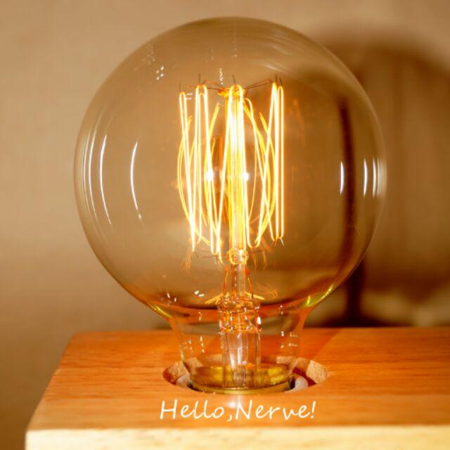 只賣燈泡~G80 直絲愛迪生燈泡~ 師款,工業風Loft ,復古風,鎢絲燈泡, 師燈泡,復