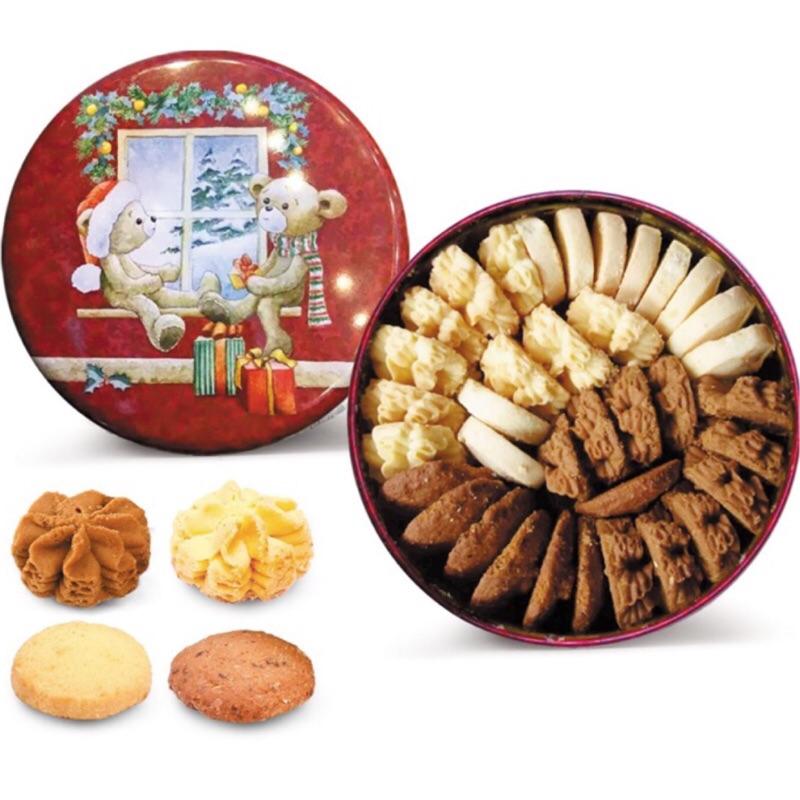 11 20 結單 香港jenny bakery 四味奶油曲奇餅乾珍妮小熊餅乾南棗核桃糕伴手