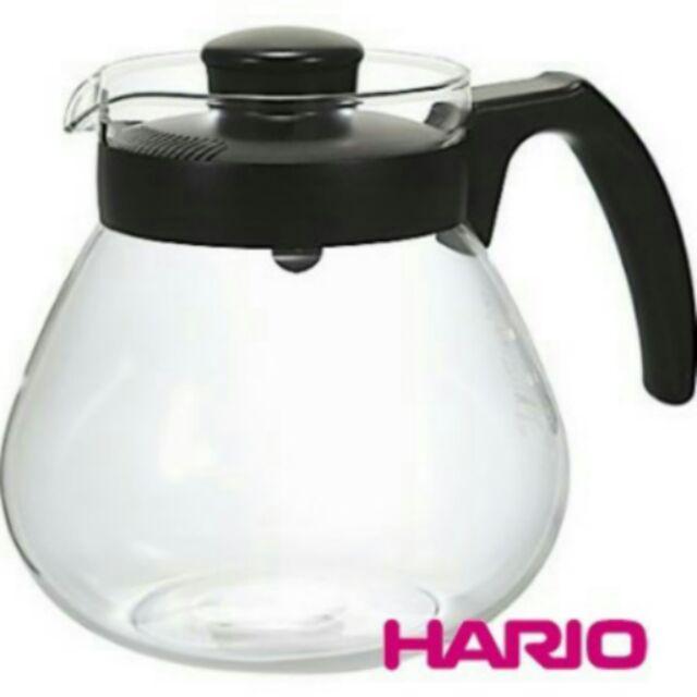 Hario TC 100B 圓款 黑、耐熱玻璃壺1000cc  Tiamo 仙德曼亞美
