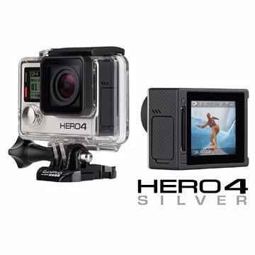~行車 ~ GoPro HERO4 觸控螢幕銀色版 貨附發票 書