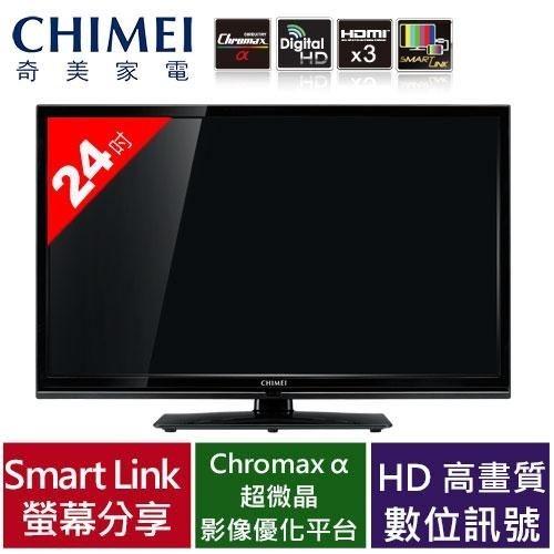CHIMEI 奇美24 吋LED 液晶顯示器TL 24LF65 視訊盒不含