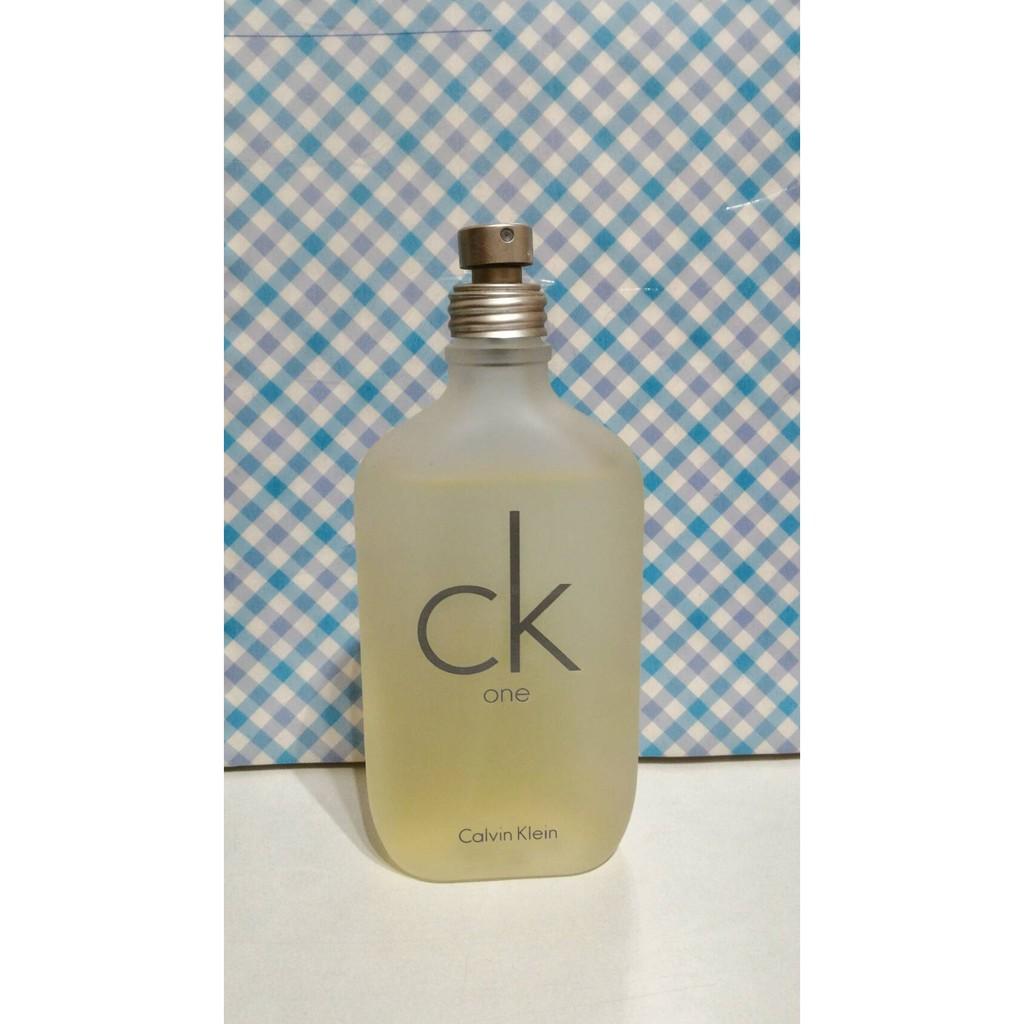 CK one Calvin Klein 卡文克萊中性淡香水5ml 分裝