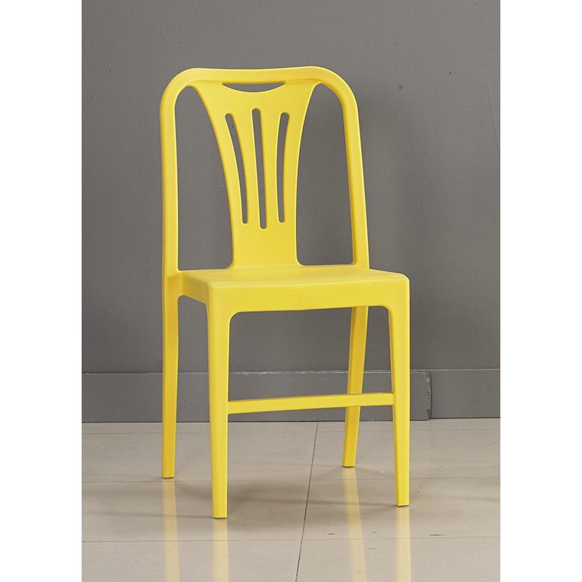 ~昱陽傢俱~洛普黃色餐椅椅子會議桌書桌椅萬用椅四色 紅色白色黃色綠色 品~桃園以北免 ~