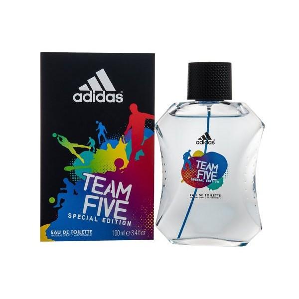 奧創美妝Adidas 愛迪達TEAM FIVE 五人團隊 男性香水100ml
