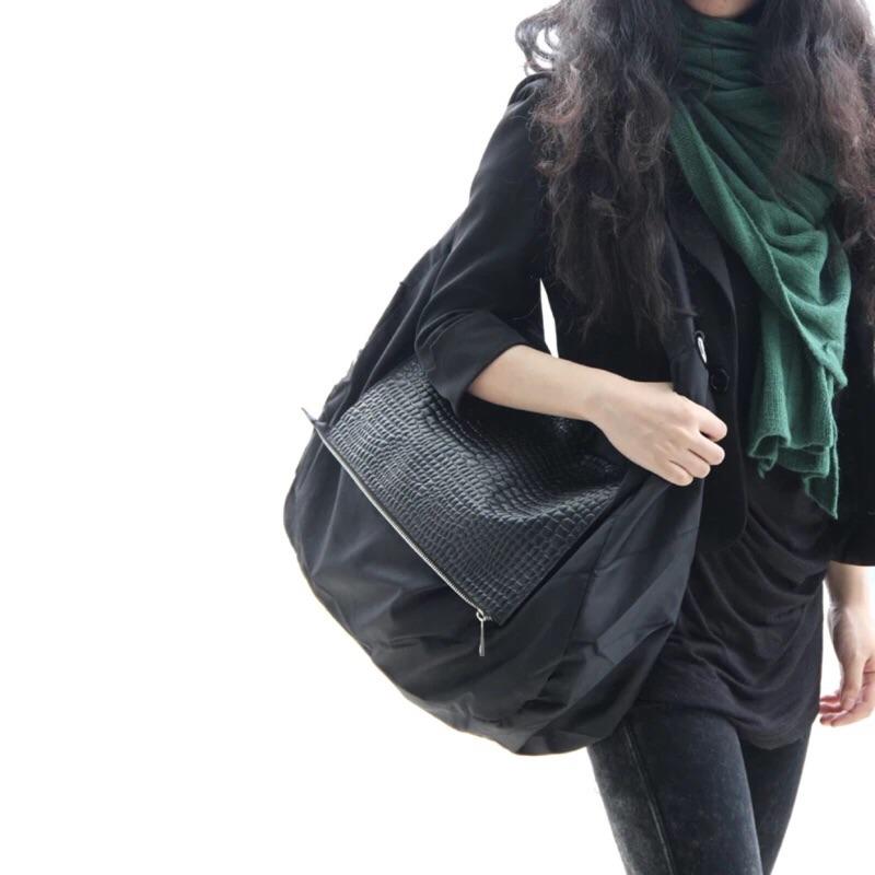撞色男女側背包斜背包休閒大容量包包
