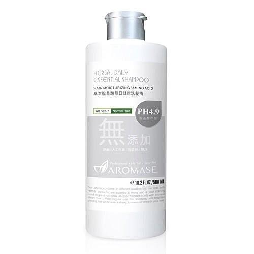 魅力彩妝窯Aromase 艾瑪絲草本胺基酸每日健康洗髮精500ml