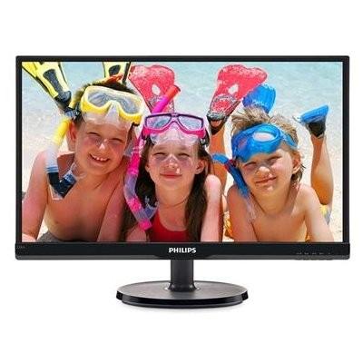 PHLIPS 飛利浦電腦螢幕LED 液晶顯示器V 系列22 吋型DVI D 介面226V6
