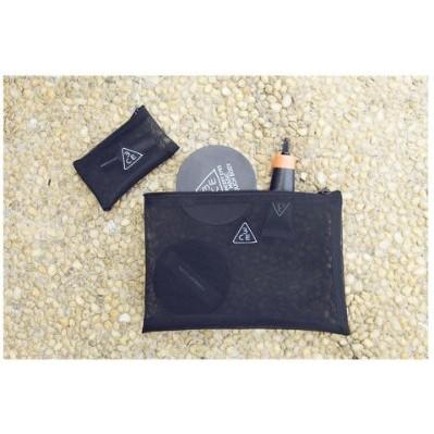 韓國Stylenanda 3CE 網紗透明化妆包收納包買大送小  滿888 免