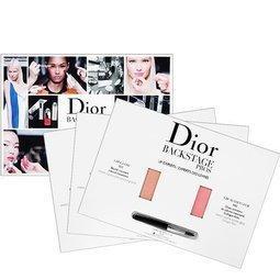 ◆NANA ◆Dior 迪奧粉漾潤唇膏0 4g 豐漾俏唇蜜0 4g mini 試用卡附唇刷