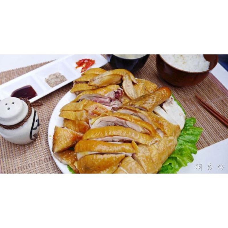 珍珠玉米甘蔗雞全雞
