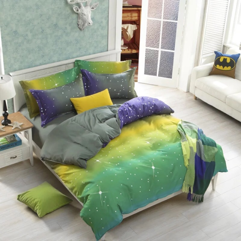 極光床包四件組床單被套枕套組單人雙人床雙人加大ikea zera muji 無印良品專櫃北