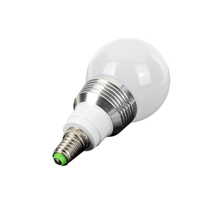 E14 3W RGB16 色帶記憶 球泡燈