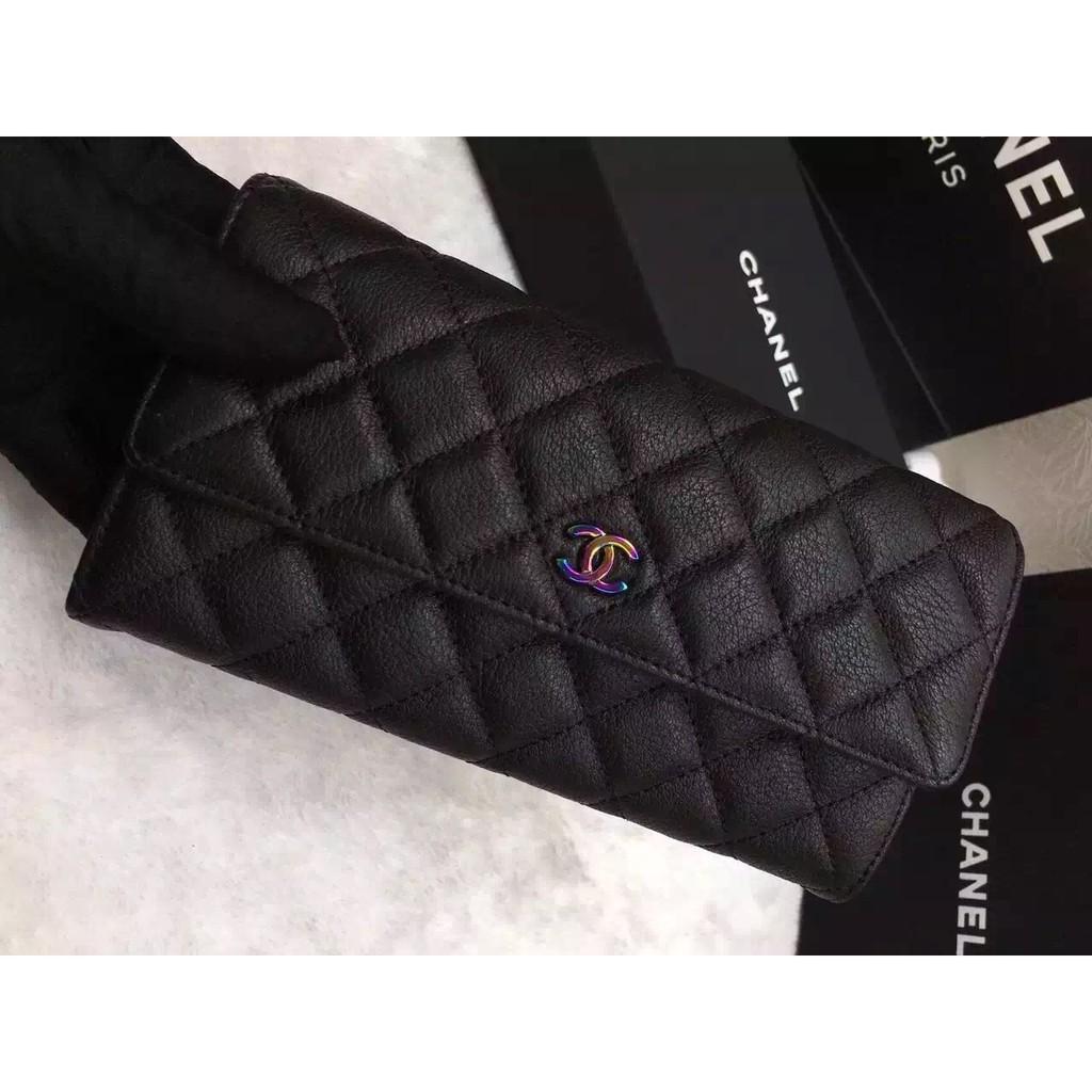 韓國 Chanel 皮夾長夾小香女夾錢夾Chanel 款
