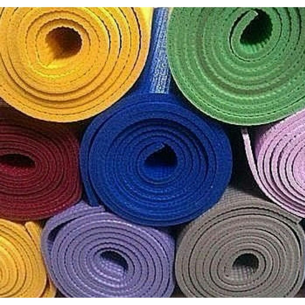 瑜伽墊 區緩衝墊環保瑜伽墊 高密度TPE 瑜珈墊170cm 60cm 4 5mm 厚
