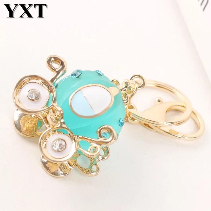 Tiffany 藍綠鑽石南瓜馬車鑰匙圈✨閨蜜伴娘禮婚禮小物情人節