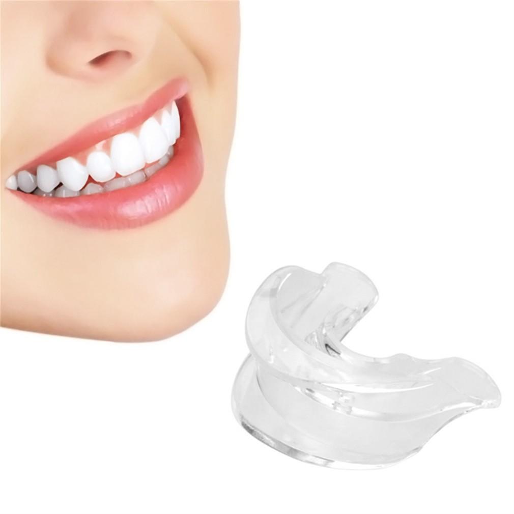 新型軟雙面口托盤牙齒牙齒美白漂白用於口腔護理