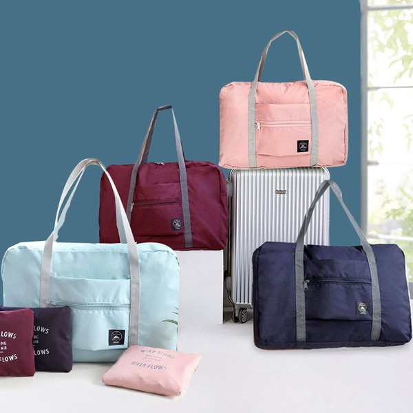 手提旅行包大容量書包防水折疊行李箱單肩包女收納包男旅行袋旅遊
