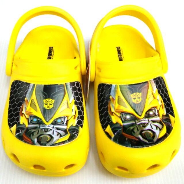 變形金剛園丁布希鞋止滑透氣護趾可涉水易穿脱
