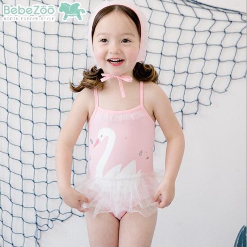 Bebezoo 蘿莉天鵝連身泳裝