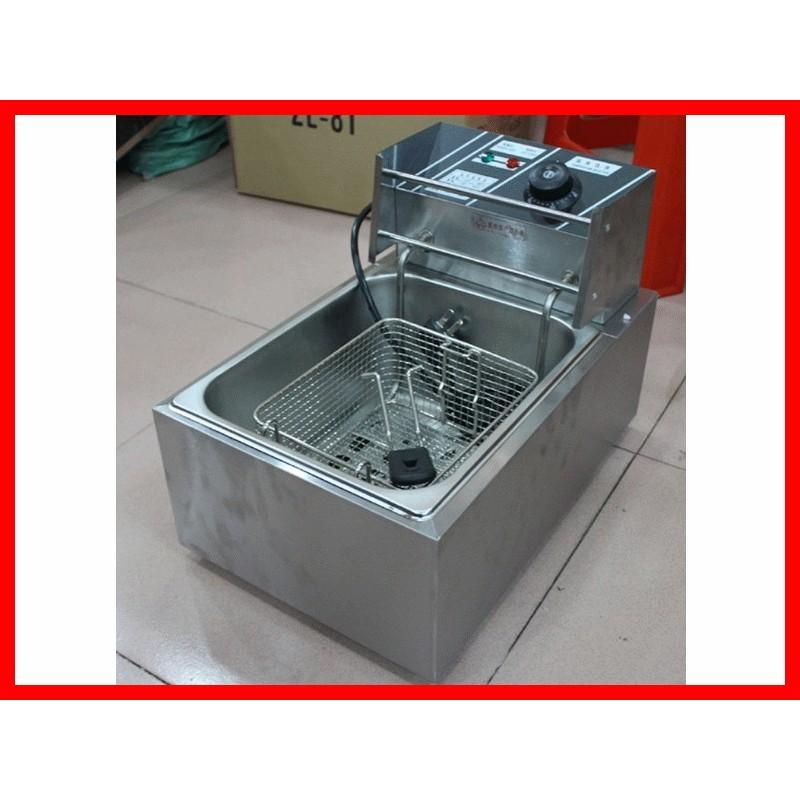 廠商直送8L 16L 單缸雙缸溫控電熱油炸爐電炸爐油炸機