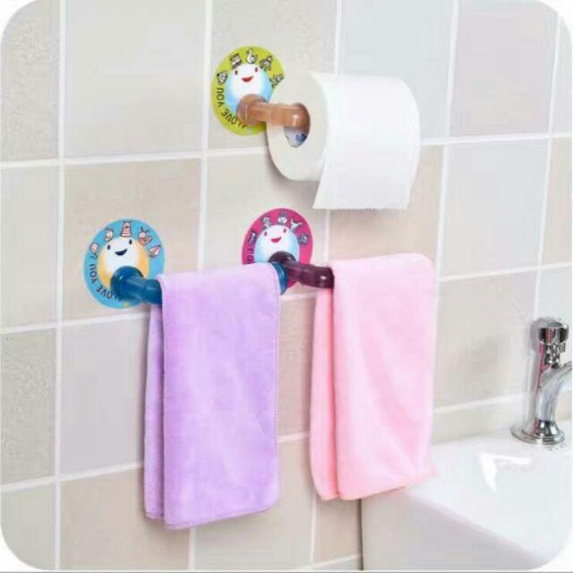 廚房浴室免打孔粘貼毛巾架( 出貨)1 個69 2 個130