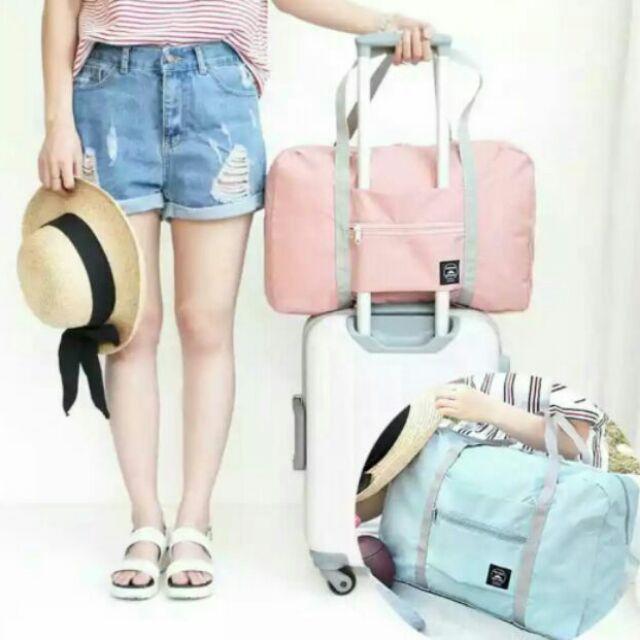 折疊旅行包折疊行李包防水收纳折疊大袋子大整理袋旅遊 手提收纳包