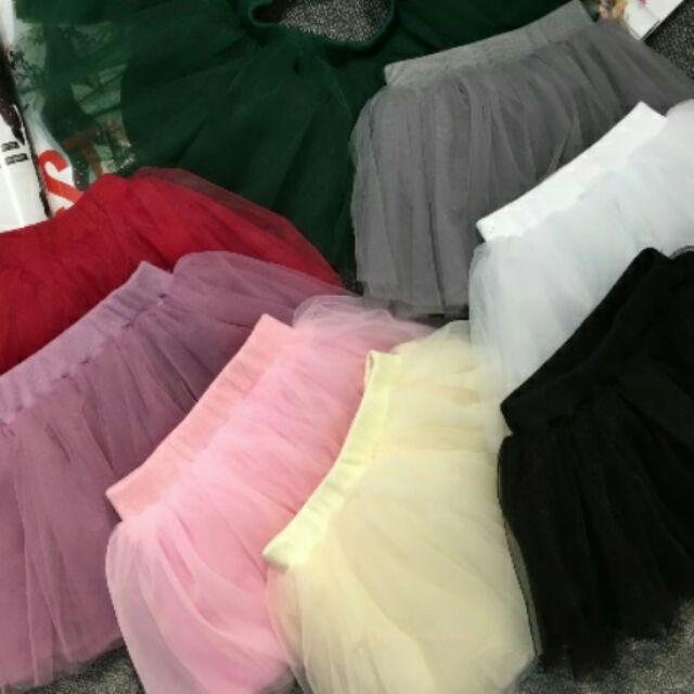 ~YeBaby 童衣鋪~~8 色 ~女童澎澎裙兒童紗裙超澎4 層紗公主裙—有8 色喔!