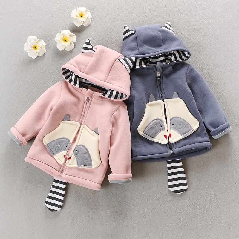 ~天天 ~男女寶寶 裝加厚外套0 3 歲嬰兒外套女童雙層大衣
