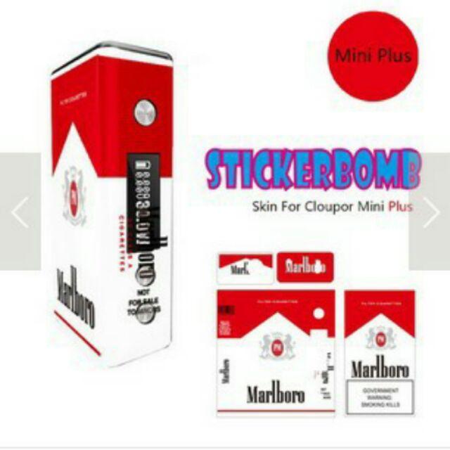 萬寶路貼紙紅白機貼紙包膜貼紙主機貼紙Cloupor mini plus 50 80w 貼紙
