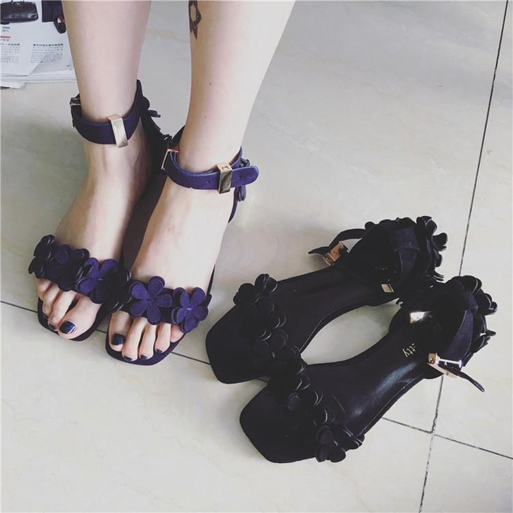 涼鞋方頭平底平跟魚嘴沙灘皮帶扣花朵女鞋潮尖頭高跟鞋厚底涼鞋厚底跟鞋楔形涼鞋楔形跟鞋娃娃鞋豆