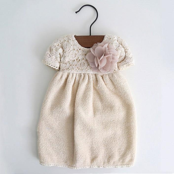 ~YG004 ~韓國正品可愛掛式蕾絲花朵洋裝擦手巾(含衣架)雜貨ZAKKA 小物 毛巾擦手