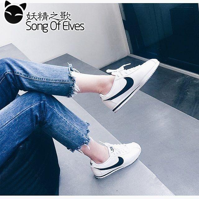 NIKE CLASSIC CORTEZ NYLON 阿甘鞋超輕量慢跑鞋休閒鞋 鞋nike