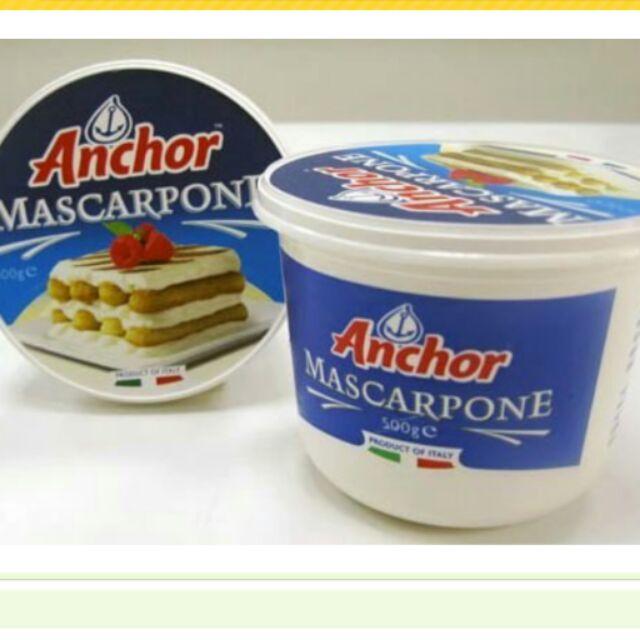 安佳馬斯卡邦乳酪500g Mascarpone 提拉米蘇材料限低溫