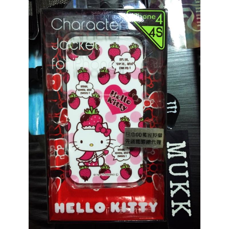 iStore Sanrio 三麗鷗凱蒂貓Hello Kitty iPhone 4 4s 草