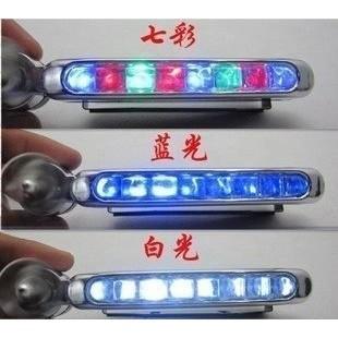 汽車 裝飾汽車LED 風力燈風力自行車燈車頭燈風力輔助燈2 個一組A001