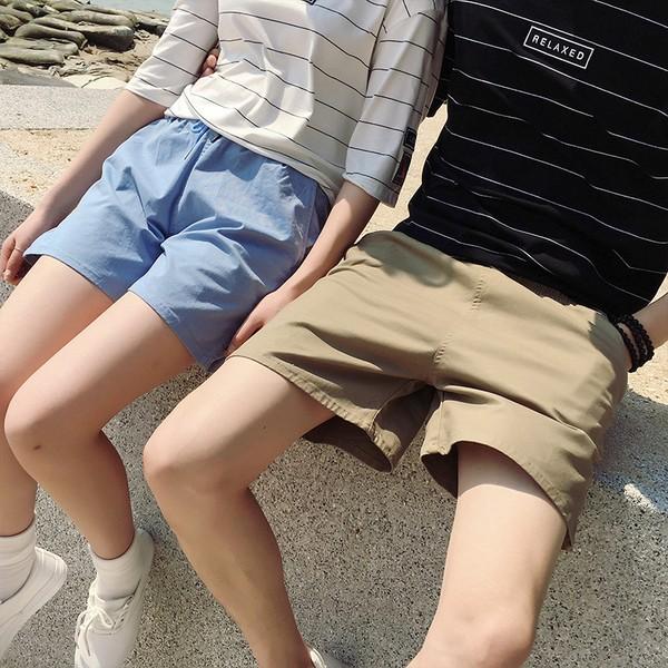 AVENIR |素面純色型男休閒沙灘褲情侶裝短褲非MYSTI WAXX ROXY REEF