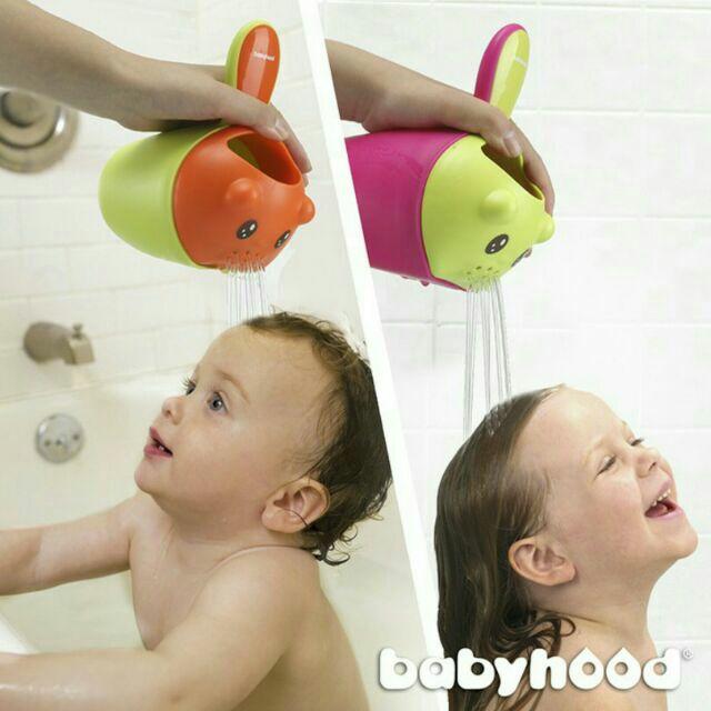 babyhood 小熊熊洗頭洗澡杯
