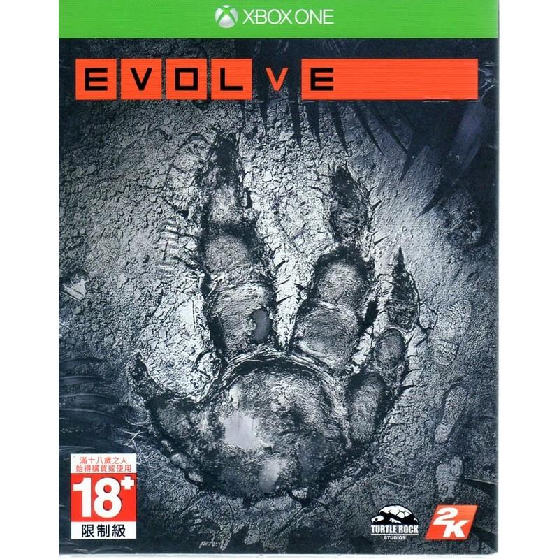 xone 惡靈進化Evolve 中文版 不用等