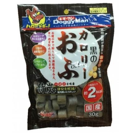 Doggy Man 犬用低卡輕食竹炭麵包丁30g