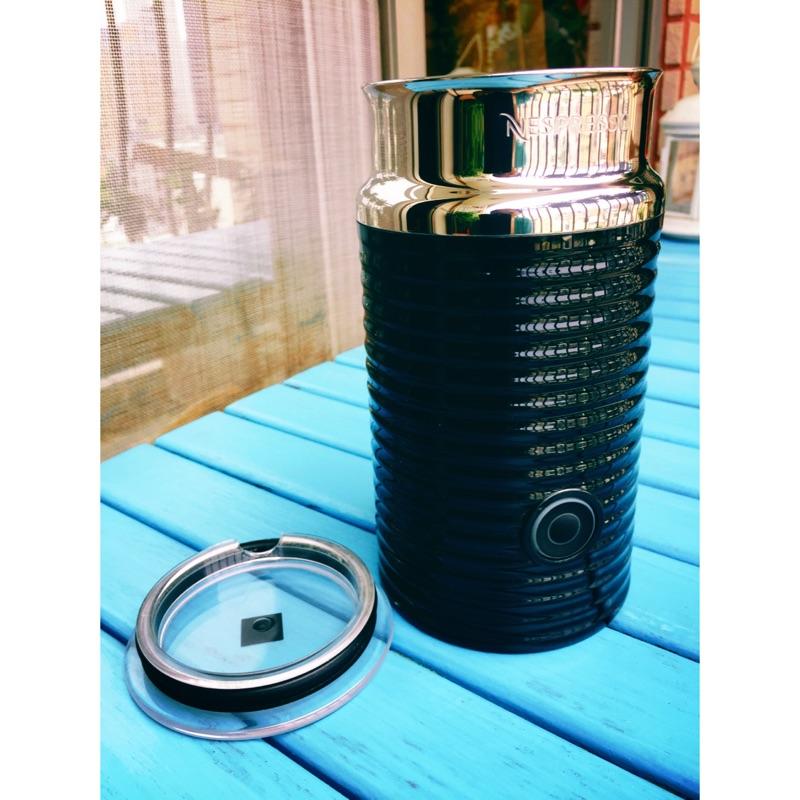 雀巢Nespresso Aeroccino3 自動奶泡機 奶泡機膠囊咖啡機黑