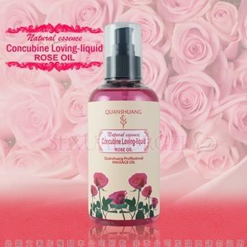 棉花糖天然潤滑Concubine Loveing Liquid 全身按摩潤滑油浪漫玫瑰