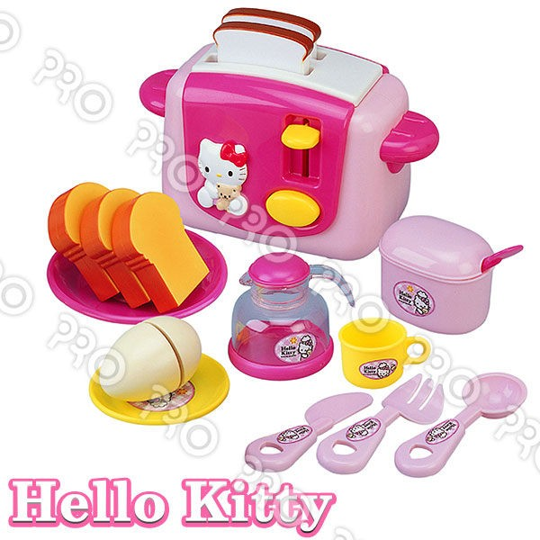KT 烤麵包機Hello Kitty 扮家家酒角色扮演