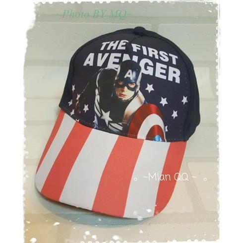 ~棉Q Q ~復仇者聯盟~正義聯盟系列 人物美國隊長鋼鐵人浩克蝙蝠俠棒球帽遮陽帽潮帽