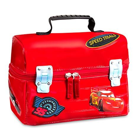 美國迪士尼店購入正品 閃電麥坤餐袋便當袋餐盒保溫袋背包側背包戶外教學生日 聖誕節兒童節萬聖