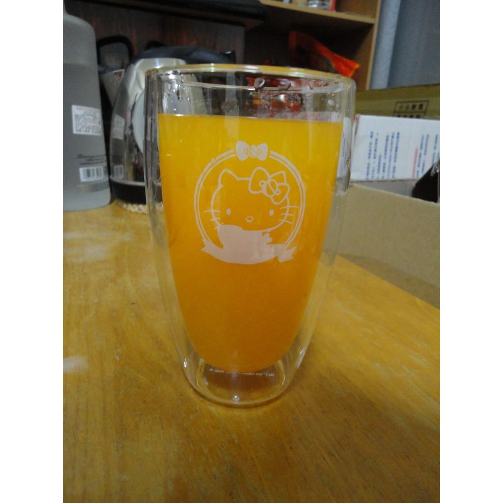 玻璃雙層杯蛋形杯450ml