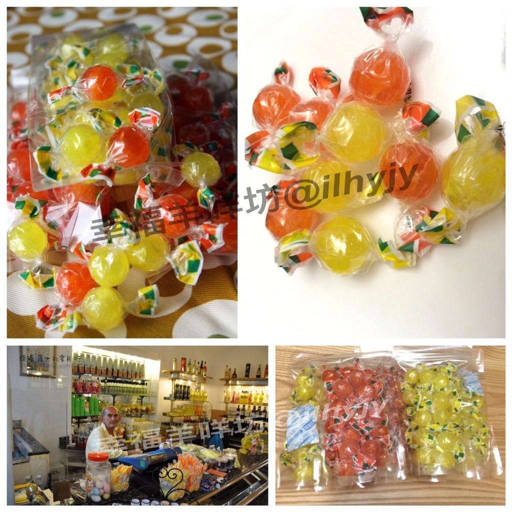 義大利檸檬糖Capri 卡布里島~幸福羊咩坊~╭~檸檬球~╮5 包送1 區