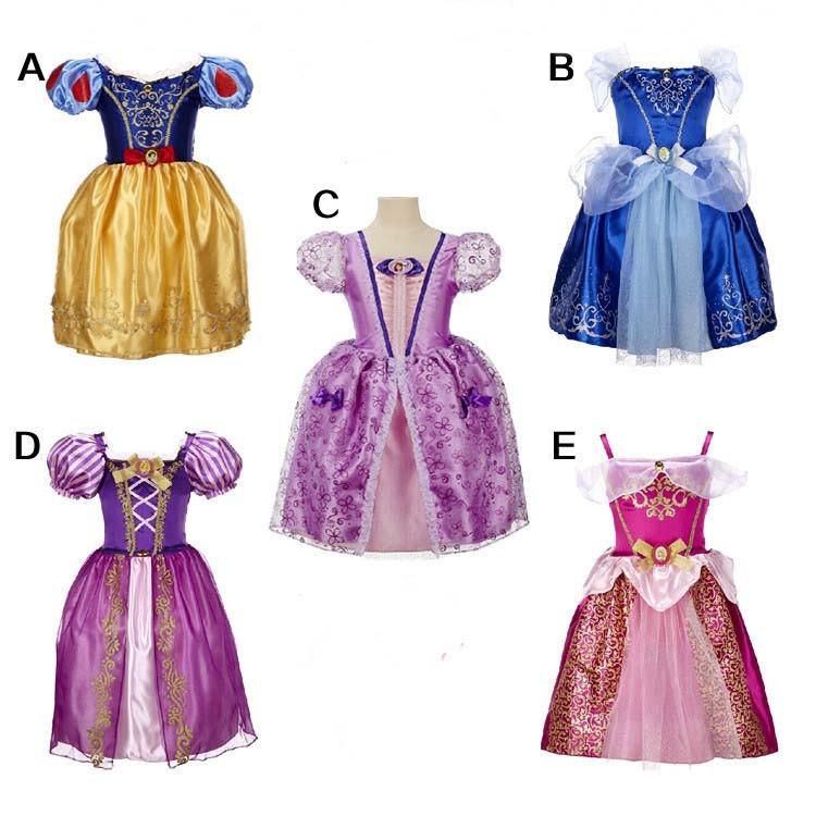 女童 公主連身裙