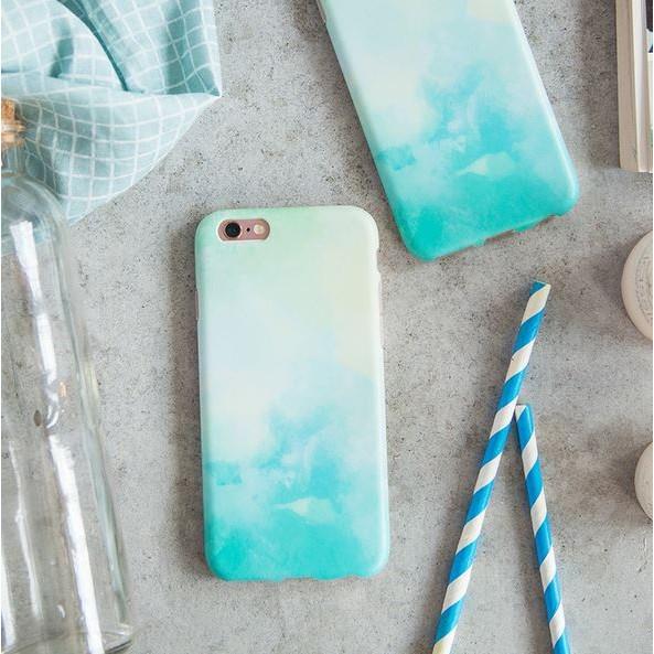 風格漸層色彩iPhone7 6 6S 7 6 6S 簡約磨砂手機殼全包軟殼✨